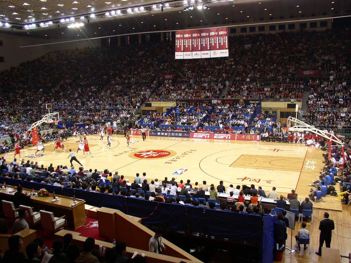2004年NBA季前赛中国北京赛